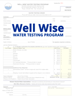 Well Wise Testing Form